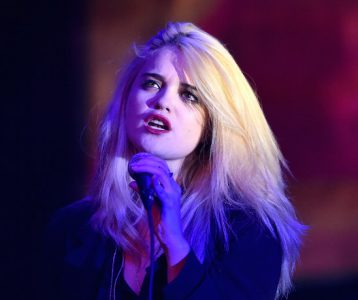 "LOS ANGELES, CA - AUGUST 07: Singer Sky Ferreira performs at the ""Mistress America"" Los Angeles premiere during the Sundance NEXT FEST at The Theatre at Ace Hotel on August 7, 2015 in Los Angeles, California. (Photo by Alberto E. Rodriguez/Getty Images for Sundance)"